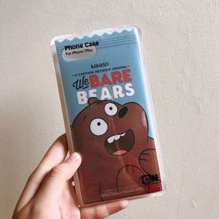 (NEW) Miniso : We Bare Bears Case for iPhone 7/8 Plus
