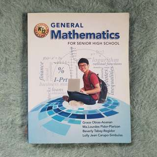 UST G.11 Book: Gen Math