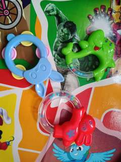 Assorted Baby Rattle