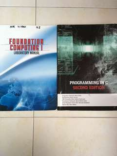 Foundation in Computing 1 & Programming in C(second edition)
