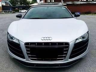 Audi R8 Scrap