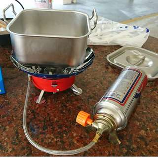 Outdoor Poartable Camping Stove - ideal for ICT, camps & fishing trips