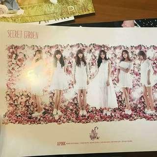 放apink poster(飯制)購自韓國
