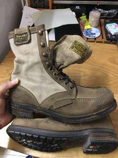 Superdry 軍靴sizeUK8號 EUR42
