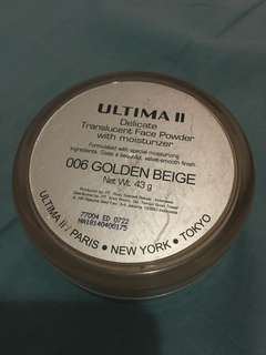 Ultima powder