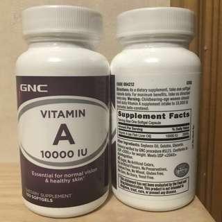 GNC Vitamin A (維他命A) 100粒