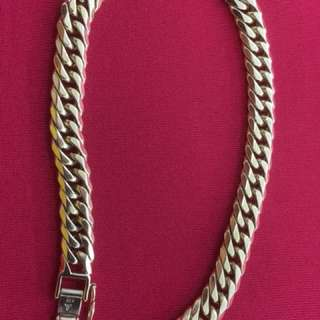 for sale!!! japan gold bracelet 18k 8-cut 29.5grams