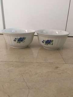 Vintage big bowls