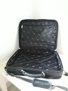 Leather Travel cum Document bag