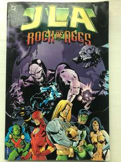 DC Comics Justice League Rock of Ages