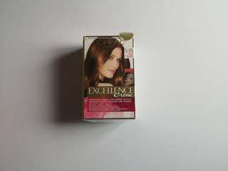 Hair color Chocolate Brown 5.35