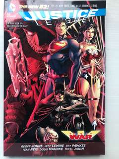 DC Comics Justice League Trinity War