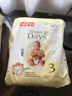 Fisher price baby diaper size 3