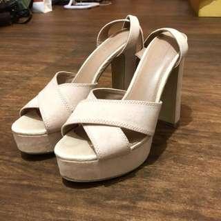 Topshop Crossover heels