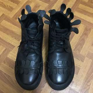 🚚 Tokyo Bopper 經典厚底鞋 黑色真皮(日本購入)
