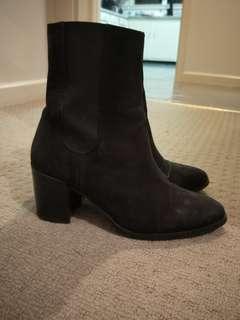 Asos preloved suede boots
