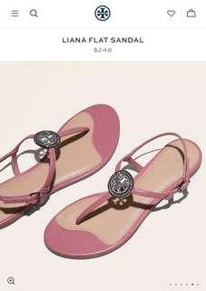 ♥️Tory Burch Liana flat Sandals 2️⃣ colours