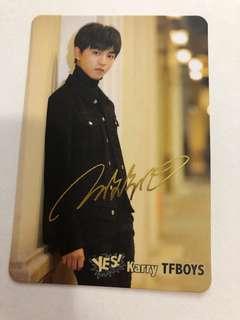 王俊凱 yes card