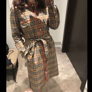 Burberry shirt dress