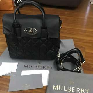 Mulberry Cara Delevigne Bag 3 in 1 (Backpack, Handbag, Shoulder Bag)
