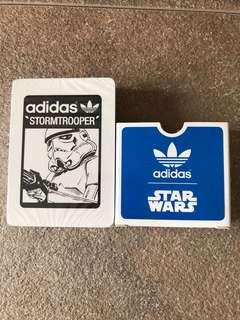 Adidas x Star Wars x Milk 啤牌