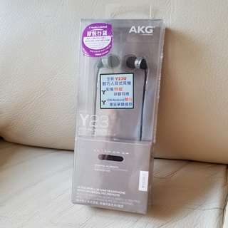 AKG Y23 耳機 輕巧入耳式 ISO Android 兼容