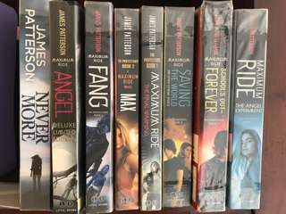 Maximum Ride novels by James Patterson (FULL SET)