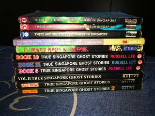 Random Singapore Ghost Stories Books