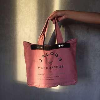pink marc jacobs tote bag