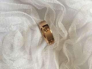 CARTIER Gold Ring Replica