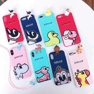 IPhone Case 電話殼 - 超人、小動物、GoodForYou