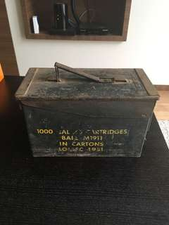 Ammo box for .45 cal M1911