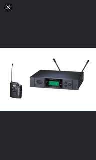 Audio technica wireless guitar transmitter / headset / headworn / lavalier