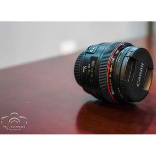 Canon EF50mm F1.2 L Lens