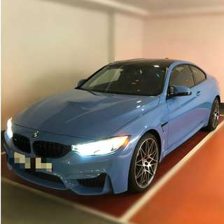 BMW M4 COMPETITION PACKAGE 2016
