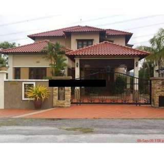 2sty RENOVATED Bungalow House @Section 8, Shah Alam for LOW PRICE SALE!  Only RM1,312,000 (Market value RM2,000,000) BUMI Lot  Pls READ Detail info B4 enquiry,TQ