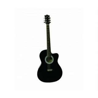 Morrison - dca1c 39inch acoustic guitar - black