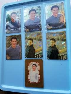 7張 張學友 Jacky yes卡 閃卡 90年代 歌手 yes card