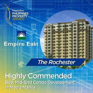 7k monthly Rent to own condo in Pasig  near BGC