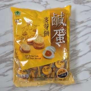 昇田鹹蛋麥芽餅