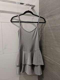 Nookie Beach Grey Mini Dress