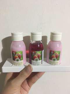 Yves Rocher Framboise Organic Raspberry Lotion & Bath Gel