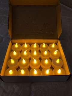 電子蠟燭燈 LED candles x 20pcs
