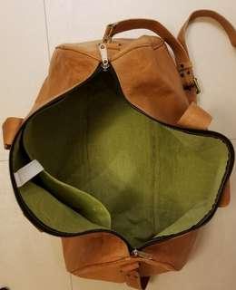 Hemmingway Genuine Leather Duffel Bag