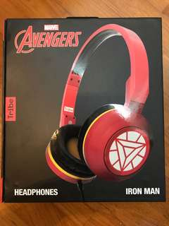Tribe Marvel headphones