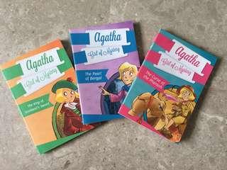 Agatha - Girl of Mystery series by Sir Steve Stevenson