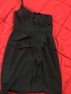 Size 8 Black Dress -Postage Included
