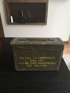 Ammo box for .30 cal