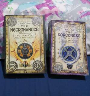 The Secrets of the Immortal Nicholas Flamel Books 1 & 4
