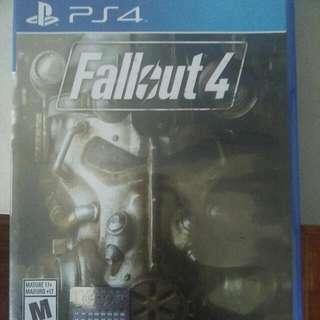 """Jual Kaset Ps4 """"Fallout 4""""  ! Baru Sekali Main! Harga Nett!  Original Gs Shop.. Murahhhhh...."""